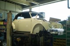 VW Käfer Cabrio Baujahr 1967 Originalzustand 030