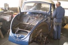 VW Käfer Cabrio Baujahr 1967 Originalzustand 045